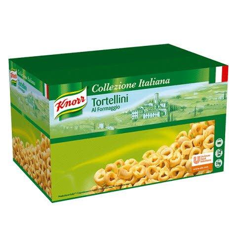 Knorr Torterllini con Queso Pasta Rellena Caja 3 Kg
