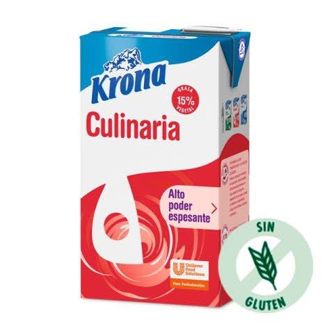 Krona Culinaria derivado lácteo para cocinar brik 1L -