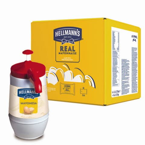 Mayonesa Hellmann's Dispensador 2,25KG