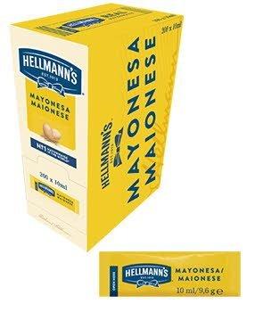 Mayonesa Hellmann's monoporciones 10ml. Caja de 200 uds.