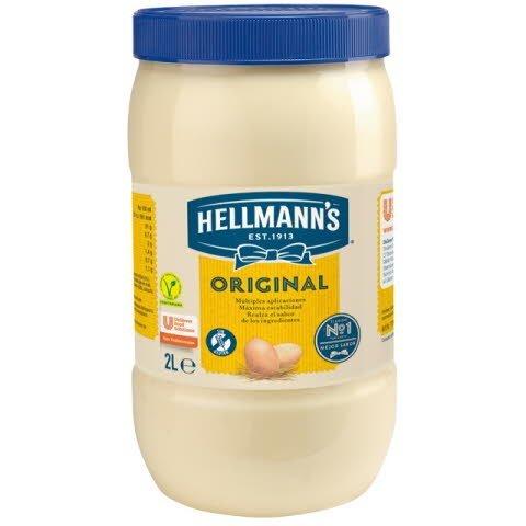 Mayonesa Hellmann's Original bote 2L Sin gluten -