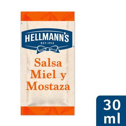 Monodosis ensalada Hellmann's Mostaza y Miel Sin Gluten -