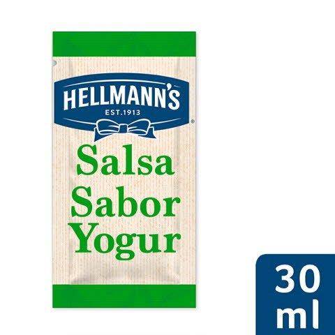 Monodosis ensalada Hellmann's Yogur. Sin Gluten -