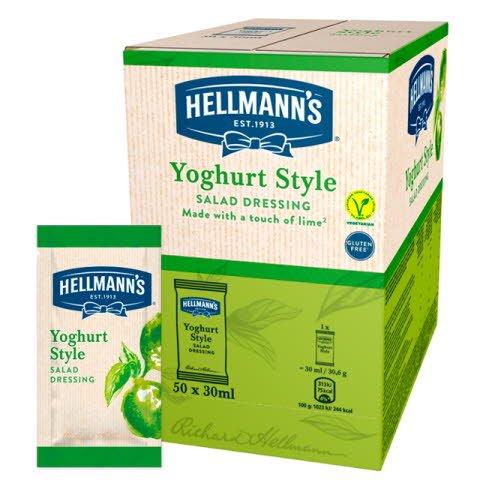 Monoporciones ensalada Hellmann's Yogur. Sin Gluten -