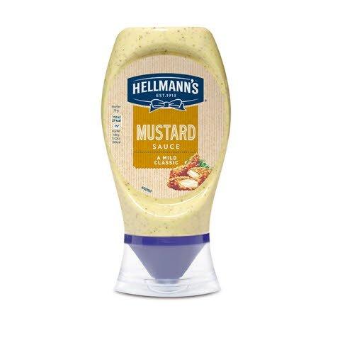 Mostaza Hellmann's bocabajo 250ml Sin Gluten -
