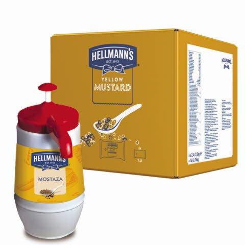 Mostaza Hellmann's Dispensador 2,5KG -