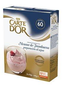 Mousse al agua Frambuesa Carte d'Or 60 raciones