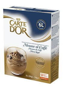 Mousse Café Carte d'Or 60 raciones
