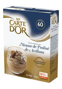 Mousse Praline de Avellana Carte d'Or 60 raciones -