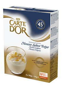 Mousse sabor Yogur Carte d'Or 45 raciones