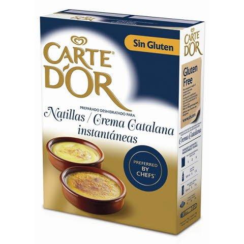 Natillas/Crema Catalana Carte d'Or Sin Gluten 36/24 raciones -
