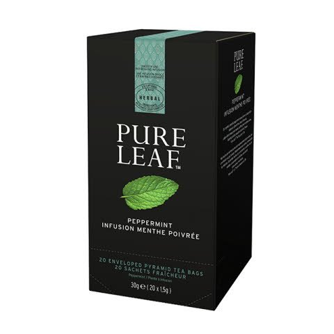 Pure Leaf 6x30g Peppermint, Caja 20 sobres