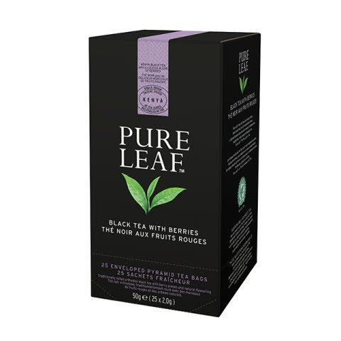 Pure Leaf 6x50g Blackberry, Caja de 25 sobres -