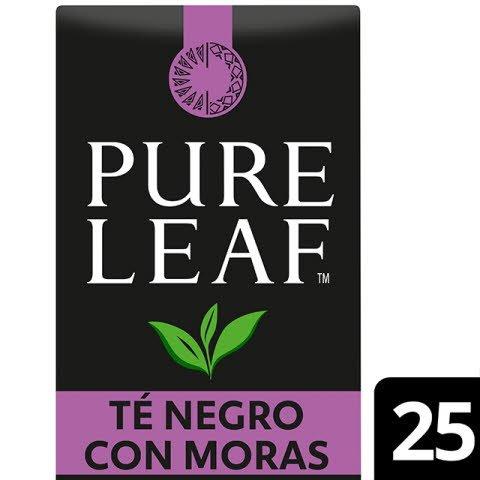 Pure Leaf 6x50g Blackberry, Caja de 25 sobres -