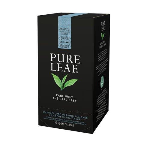 Pure Leaf Earl Grey 6x48g, Caja de 25 sobres -