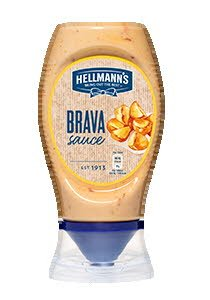 Salsa Brava Hellmann's bocabajo 250ml Sin Gluten -