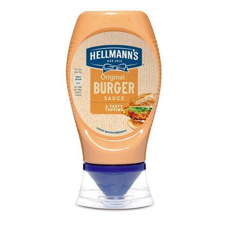 Salsa Burger Hellmann's bocabajo 250ml -