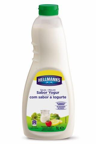 Salsa para ensalada Hellmann's Yogur botella 1L