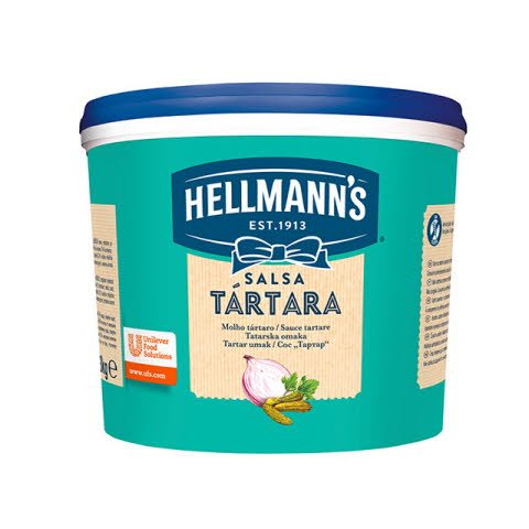 Salsa Tártara Hellmann's cubo 3L Sin Gluten -