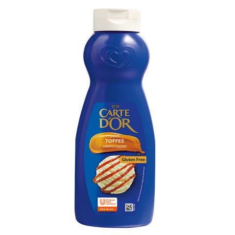 Sirope de Toffe Carte d'Or botella 1L