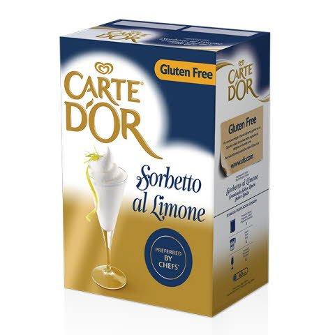 Sorbete de Limón Carte d'Or Sin Gluten 50 raciones