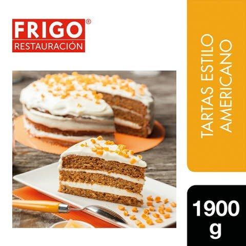 Tarta Carrot Cake American Style Frigo Restauración 1,9Kg -