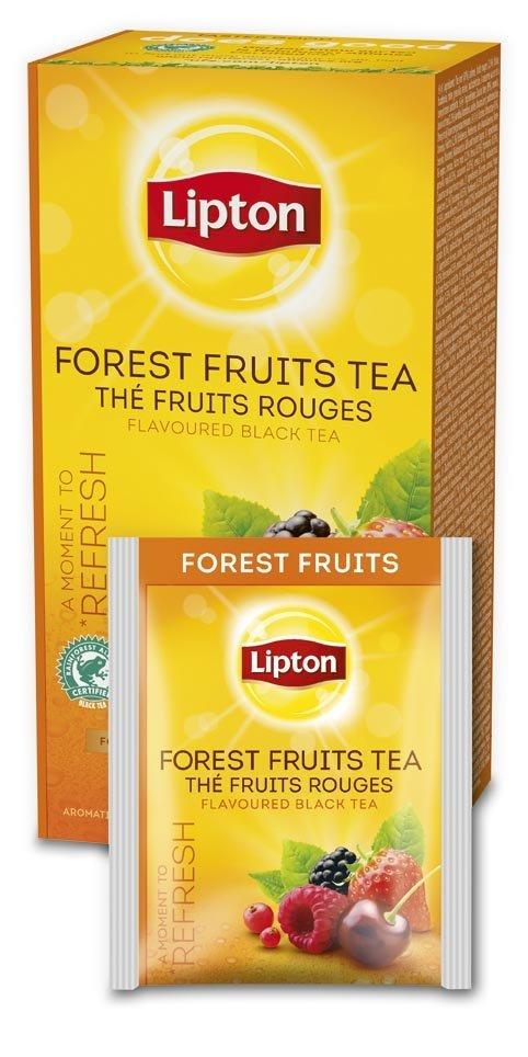 Té de Frutas del Bosque Lipton, Caja de 25 sobres