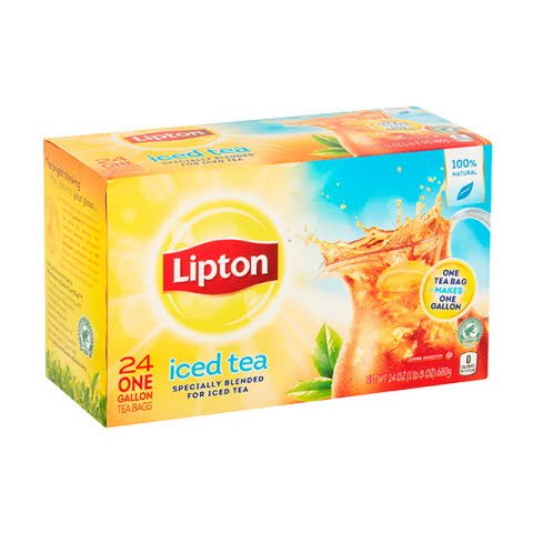 Té frío Lipton 4x24 ct
