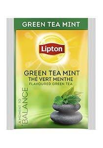 Té Verde a la Menta Lipton, Caja de 25 sobres -