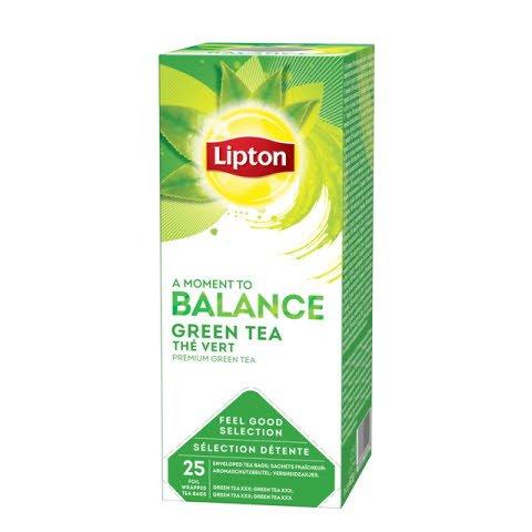 Té Verde Lipton, Caja de 25 sobres