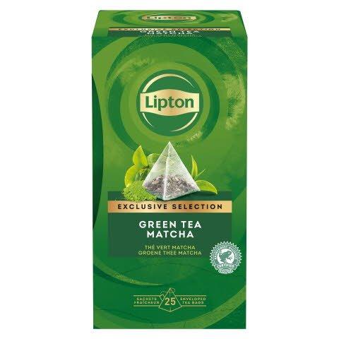 Té Verde Lipton Matcha, Caja con 25 sobres -