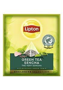 Té Verde Sencha Lipton Caja con 30 sobres