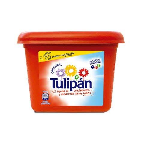 Tulipán Margarina para untar Sin sal tarrina 1Kg -