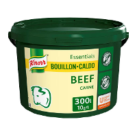 Knorr Caldo Base Clean Label Carne 3KG Sin Gluten