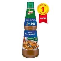 Knorr Caldo líquido concentrado de Marisco Sin Gluten botella 1L