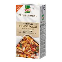 Knorr Profesional Fondo de Pollo Líquido Sin Gluten Brik 1L