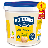 Mayonesa Hellmann's Original cubo 10L Sin gluten