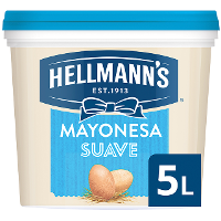 Mayonesa Hellmann's Suave cubo 5L