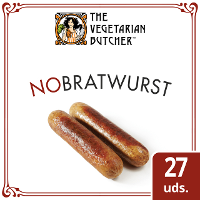 The Vegetarian Butcher NoBratwurst caja 27 x 80gr