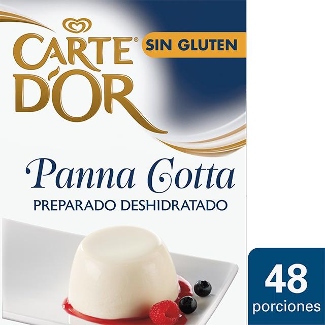 Carte d'Or Panna Cotta deshidratada sin gluten caja 48 raciones