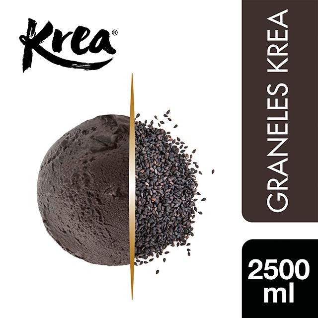 Crema Helada de Sésamo Negro Krea 2,5L - La gama de Helados KREA, exclusiva de Restauración, te ofrece sabores sorprendentes para crear platos originales.