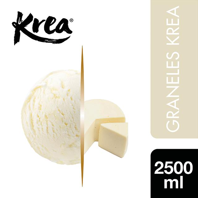 Helado de Queso Krea 2,5L - El helado de Queso Krea, es un helado que sorprende al crear platos originales