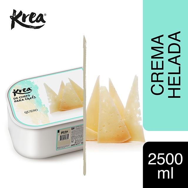 Helado de Queso Krea 2,5L - La gama de helados Krea, exclusiva de restauración, te ofrece sabores sorprendentes para crear platos originales