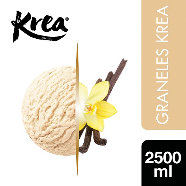 Helado de Vainilla Bourbon Krea 2,5L - La gama de Helados KREA, exclusiva de Restauración, te ofrece sabores sorprendentes para crear platos originales.