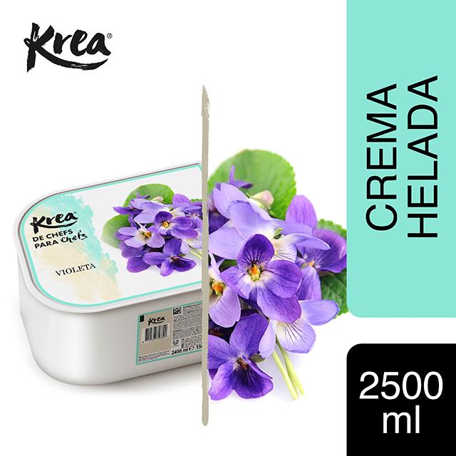 Helado de Violeta Krea 2,5L - La gama de Helados KREA, exclusiva de Restauración, te ofrece sabores sorprendentes para crear platos originales