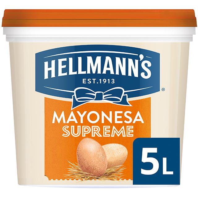 Hellmann's Gran Consistencia mayonesa cubo 5L