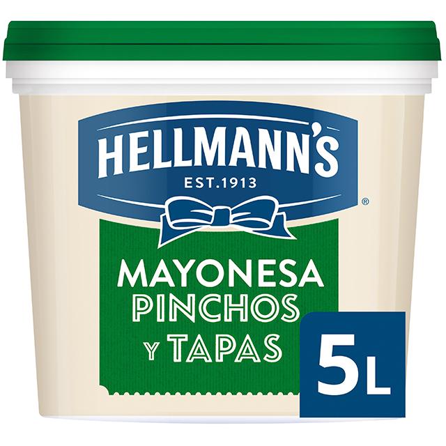 Hellmann's Pinchos y Tapas mayonesa cubo 5L