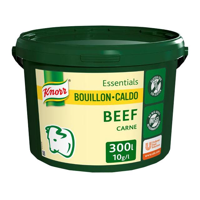 Knorr Caldo Base Clean Label Carne 3KG Sin Gluten - Sin alérgenos declarables** y con etiqueta limpia