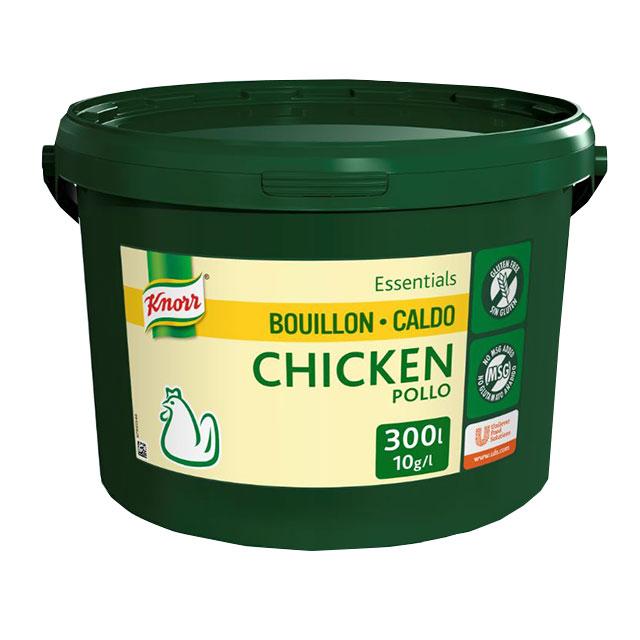 Knorr Caldo Base Clean Label Pollo 3KG - Sin alérgenos declarables** y con etiqueta limpia