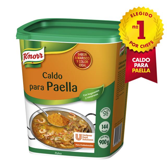 Knorr Caldo para paella deshidratado bote 1kg
